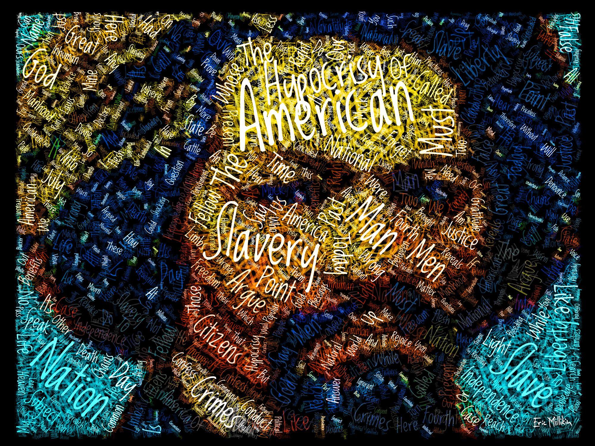 """Frederick Douglass: The Hypocrisy of American Slavery""  2016"