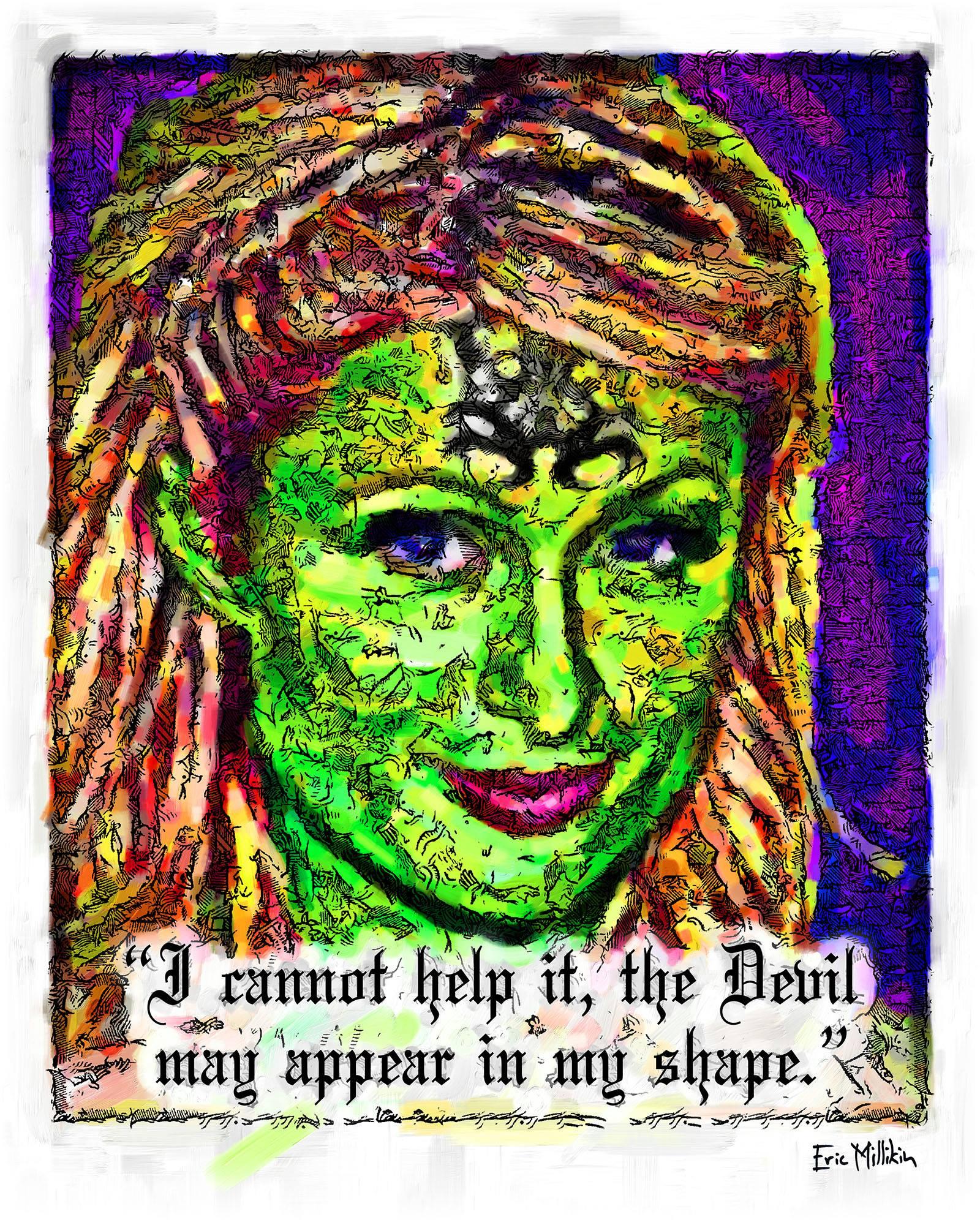 """Hollywood Witch Trial: Paris Hilton the Devil""   2016"