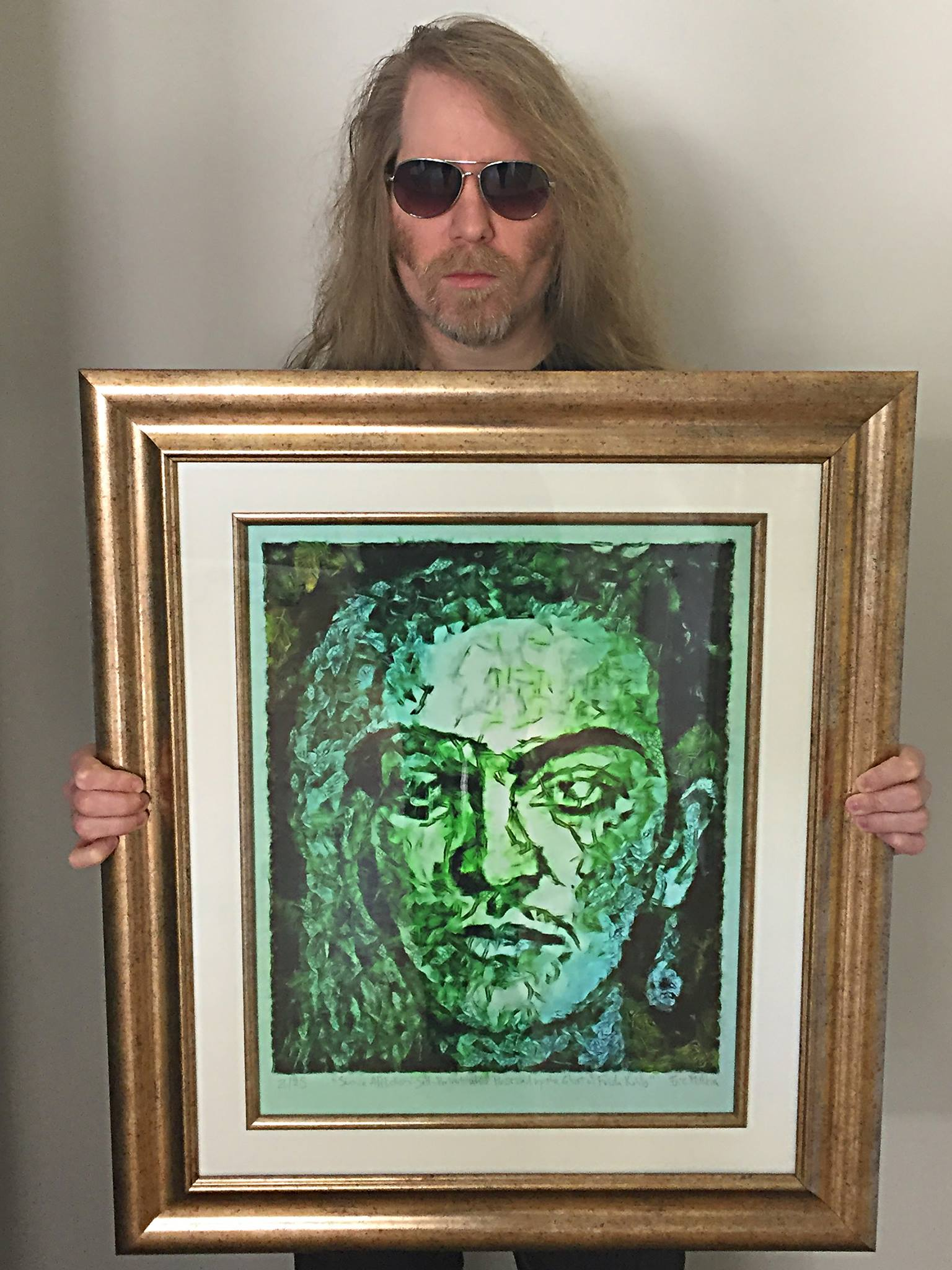 "My "" Séance Affliction :  Self-Portrait While Possessed by the Ghost of Frida Kahlo"" was included in the CHASING GHOSTS E  xhibition at the Verum Ultimum Art Gallery in Portland Oregon, and in the DAMNED Art Show at the Tangent Gallery in Detroit, Michigan."