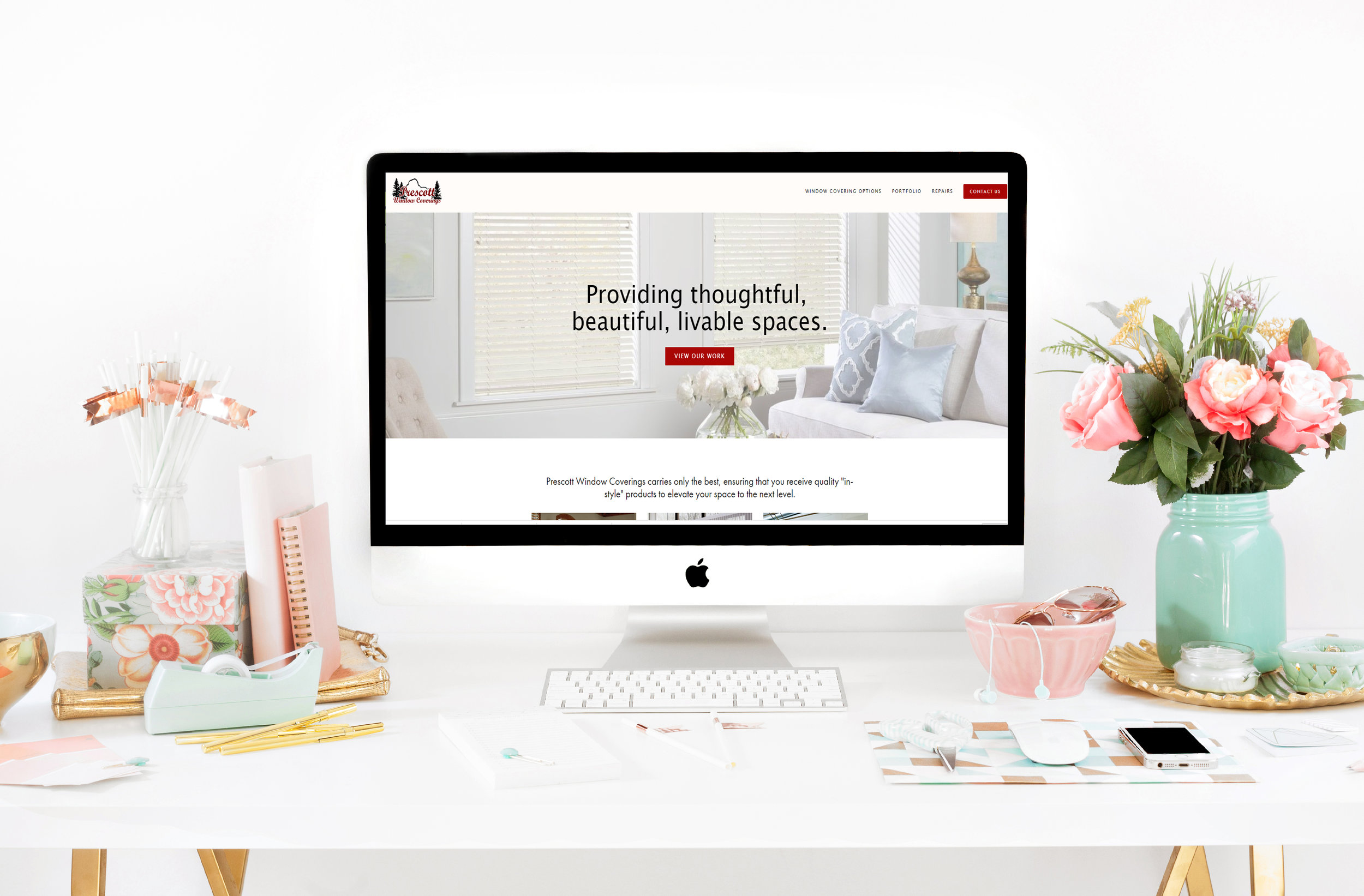 Prescott Window Coverings - Blinds, Shutters, Draperies, Valances, Window Coverings & Repairs, Prescott Window Coverings is your one stop shop for everything windows. Click Here to View the Prescott Window Coverings Website.