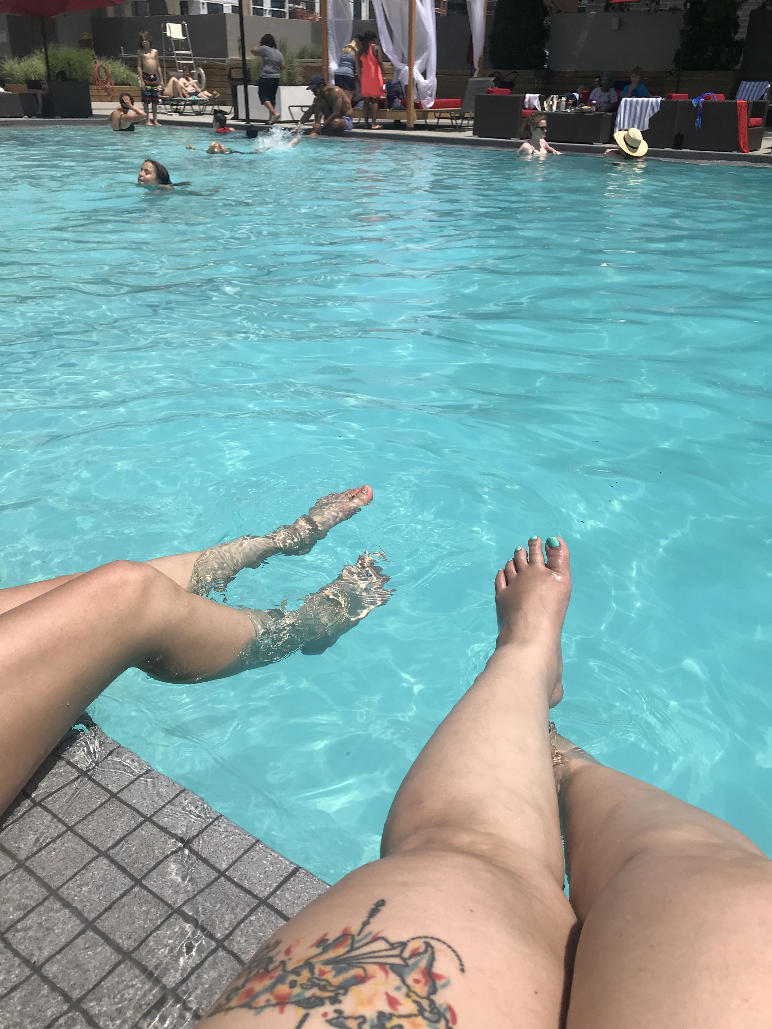 Poolside at Capitol Skyline Hotel