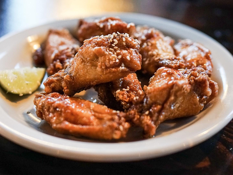 Crunchy Chicken Wings at Ba Bar