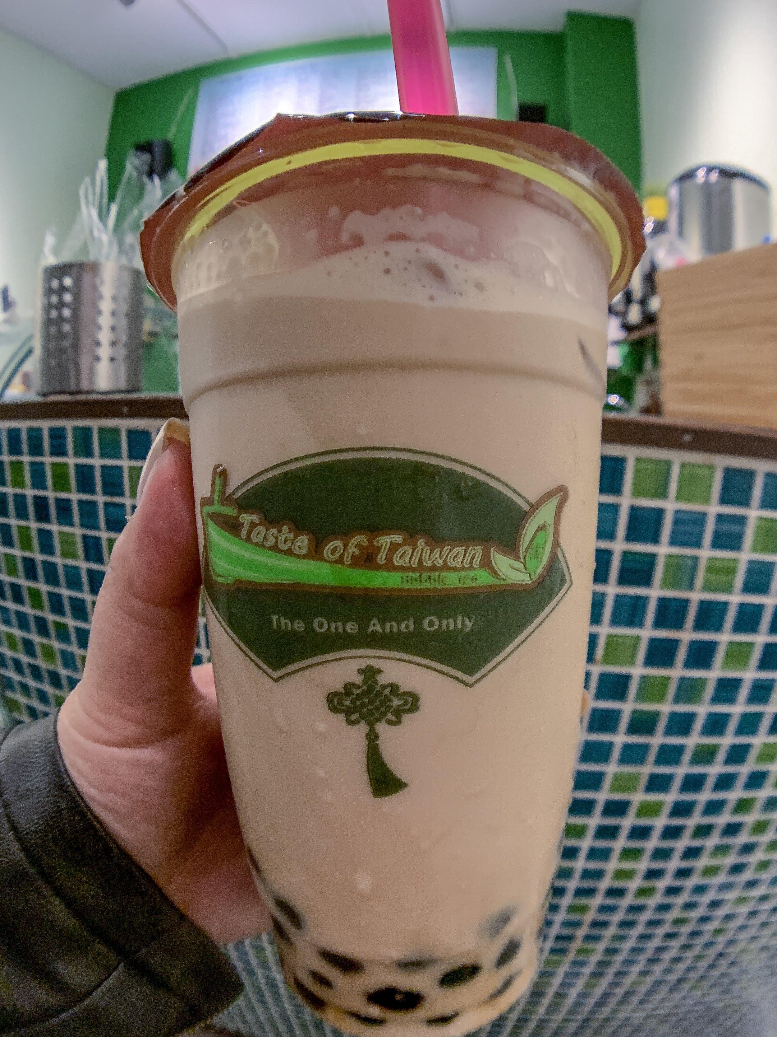Milk Tea at Taste of Taiwan