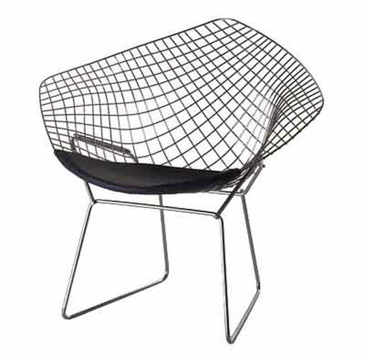 Diamond Chair by Harry Bertoia  (1952)
