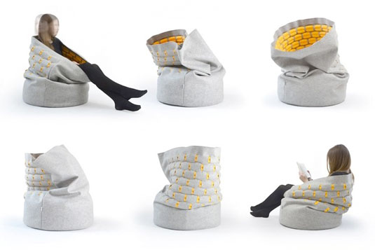 Snug Chair via  Kumeko.com