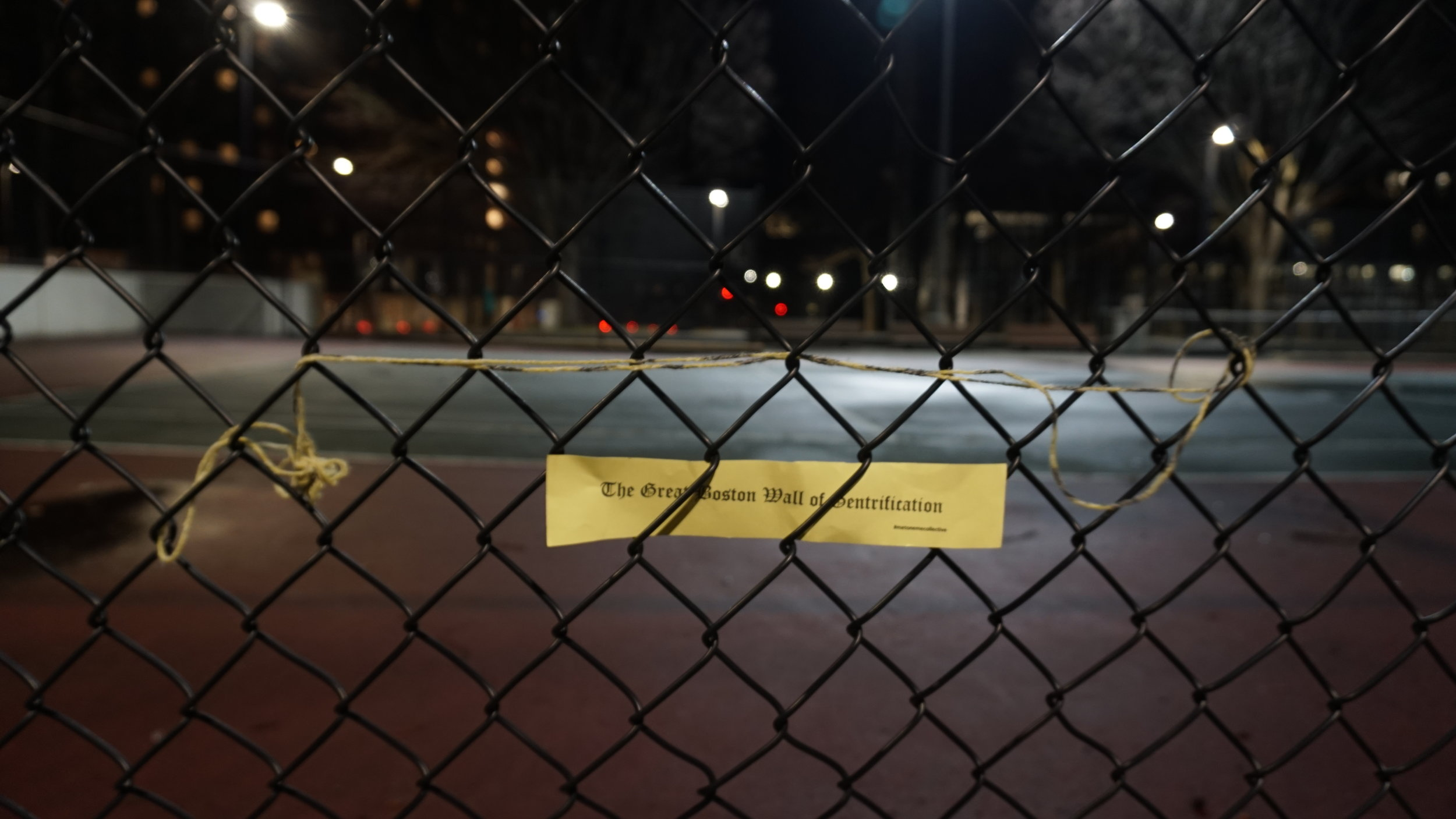 """The Great Boston Wall of Gentrification"" by Tzintzun Aguilar-Izzo"