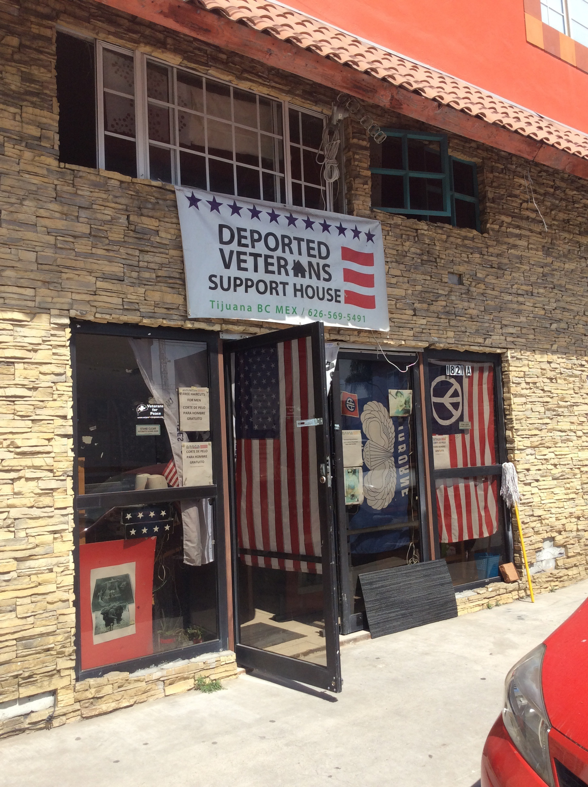 Disabled Veterans Support House (Photo: Savannah Crowley)