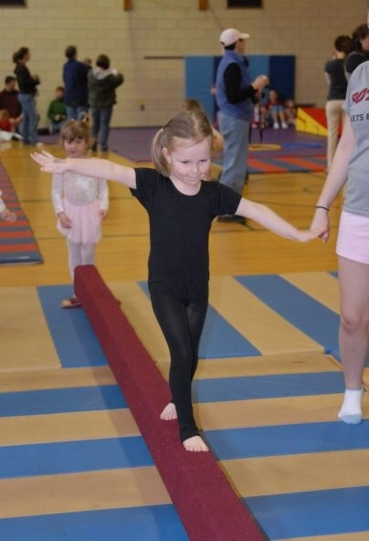 A CLEAR gymnastics class. (Photo courtesy of Kathryn Deuel )