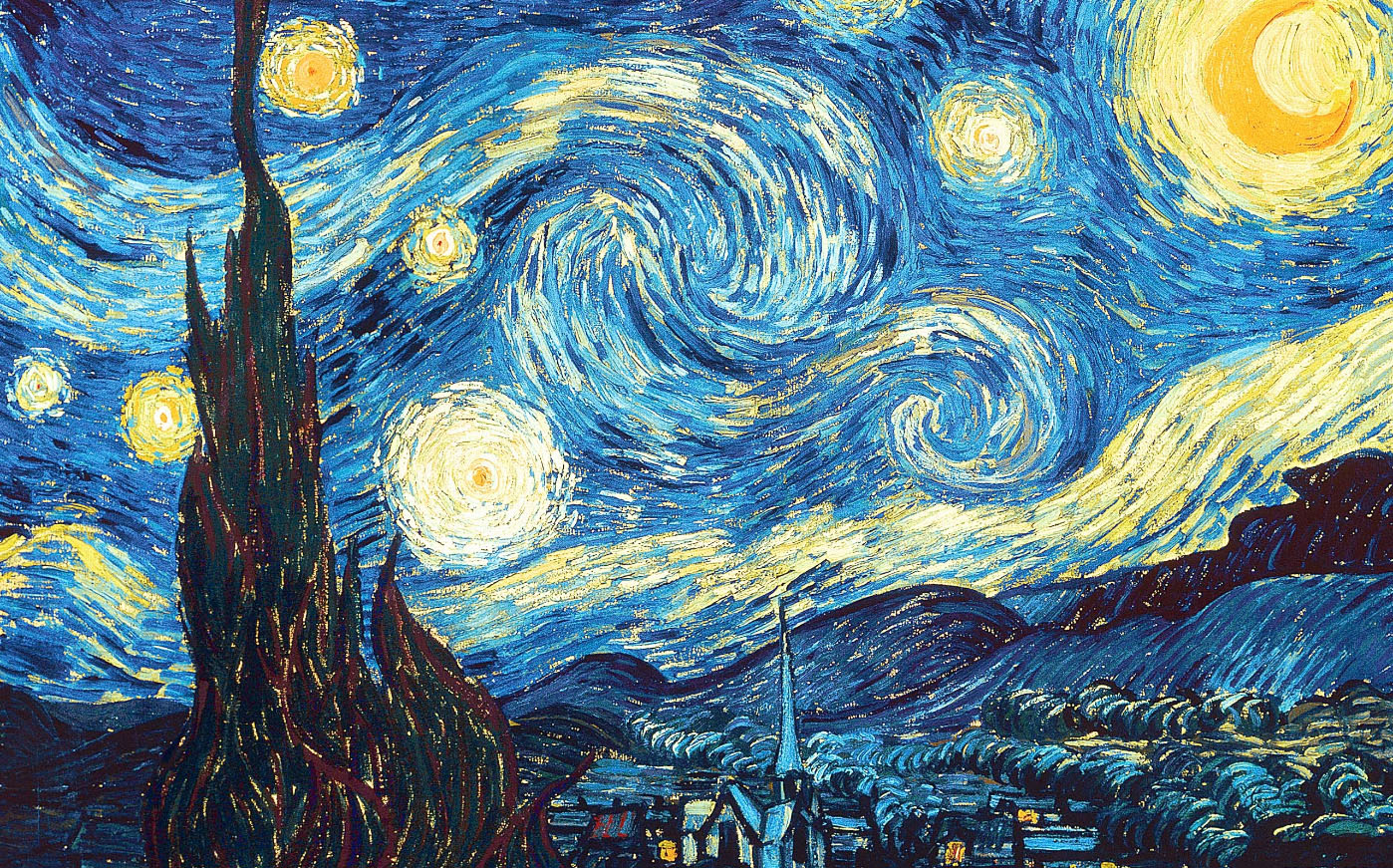 van Gogh, Vincent. The Starry Night . 1889. Museum of Modern Art, New York, NY.