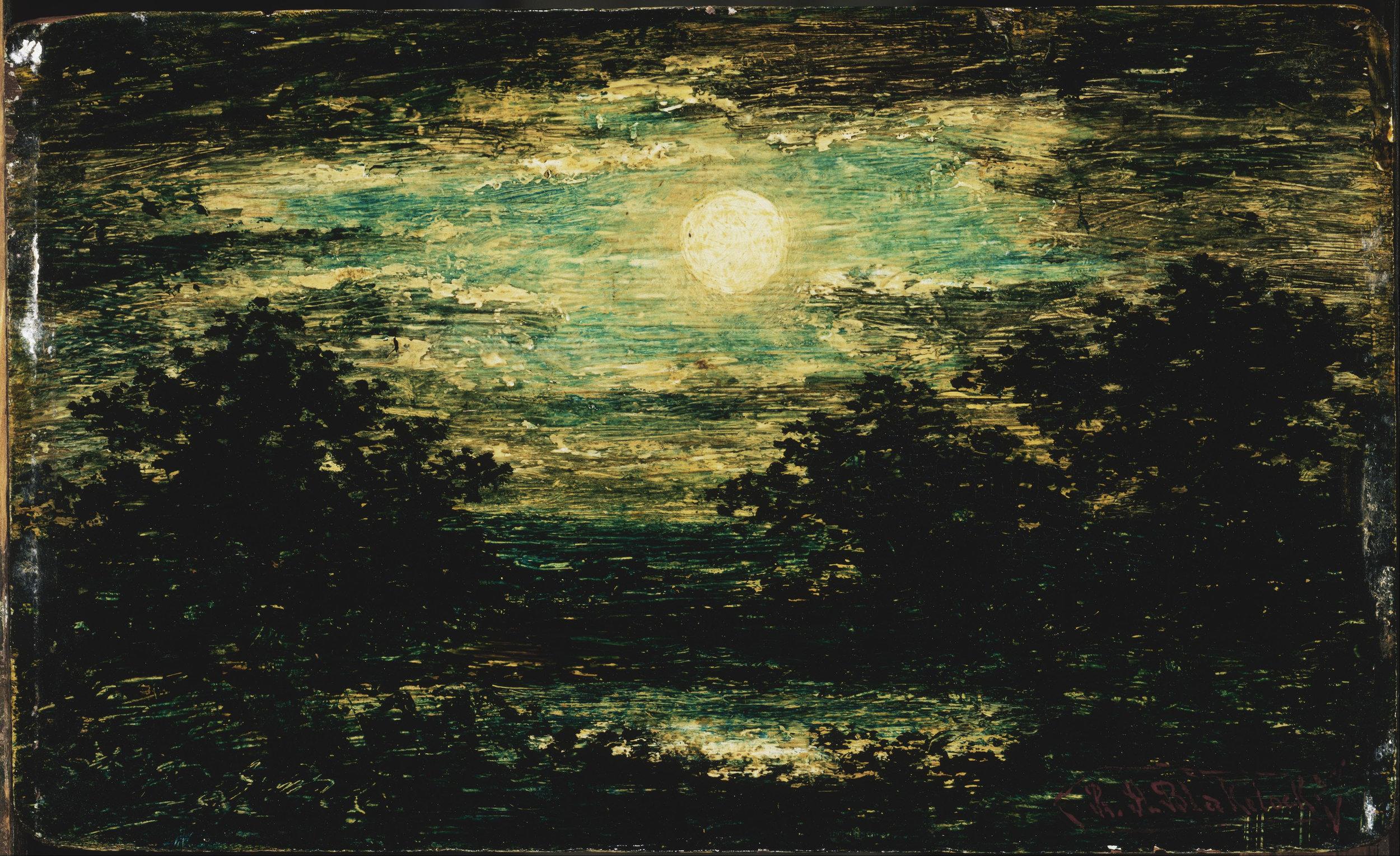 Blakelock, Ralph Albert. Moonlight . 1886. Corcoran Gallery of Art, Washington, DC.
