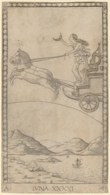 Luna (Moon) . 1465. The National Gallery of Art, Washington D.C, USA.