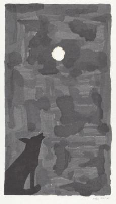 Moskowitz, Robert . Moon Dog. 1988. National Gallery of Art, Washington D.C, USA.