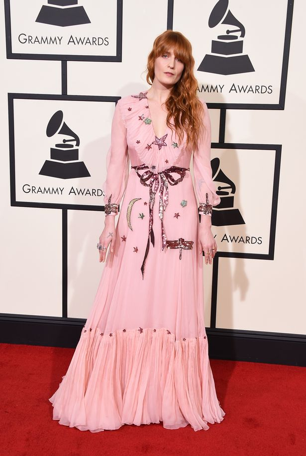 Florence Welch, Grammys, 2016