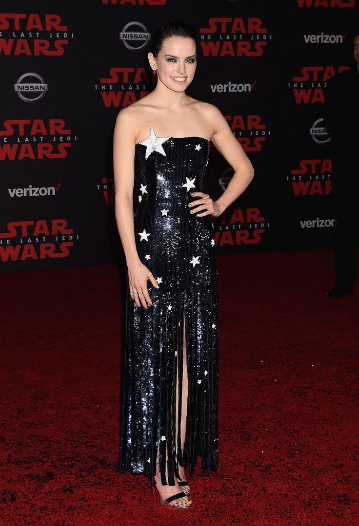Daisy Ridley, 'Last Jedi' Premiere