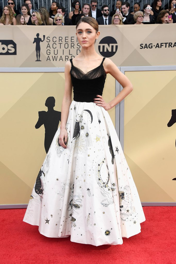 Natalia Dyer, SAG Awards, 2018