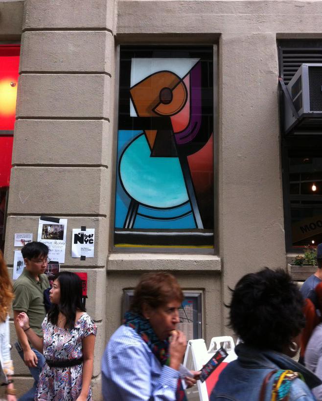 2012 Window Installation, Dumbo Arts Festival