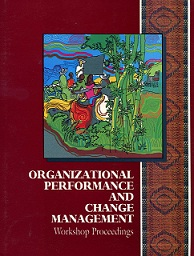 Editor  IIRR (1998)  Organizational Performance and Change Management.  Workshop proceedings. IIRR: Philippines.  ISBN: 0-942717-92-9