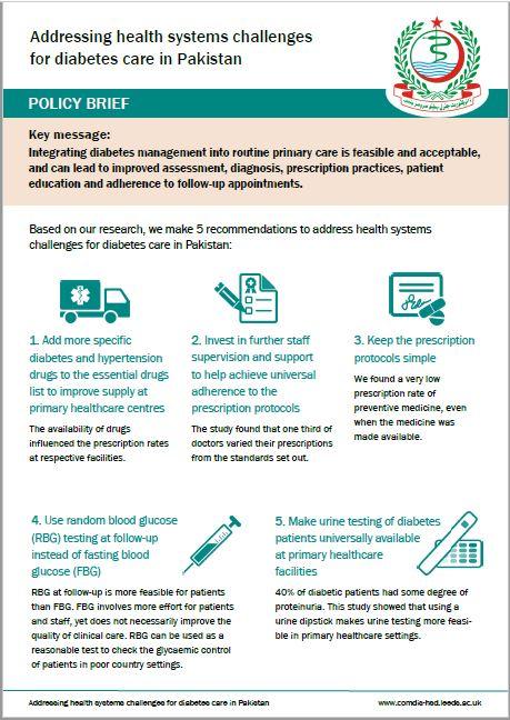 Policy brief Pakistan diabetes care.JPG