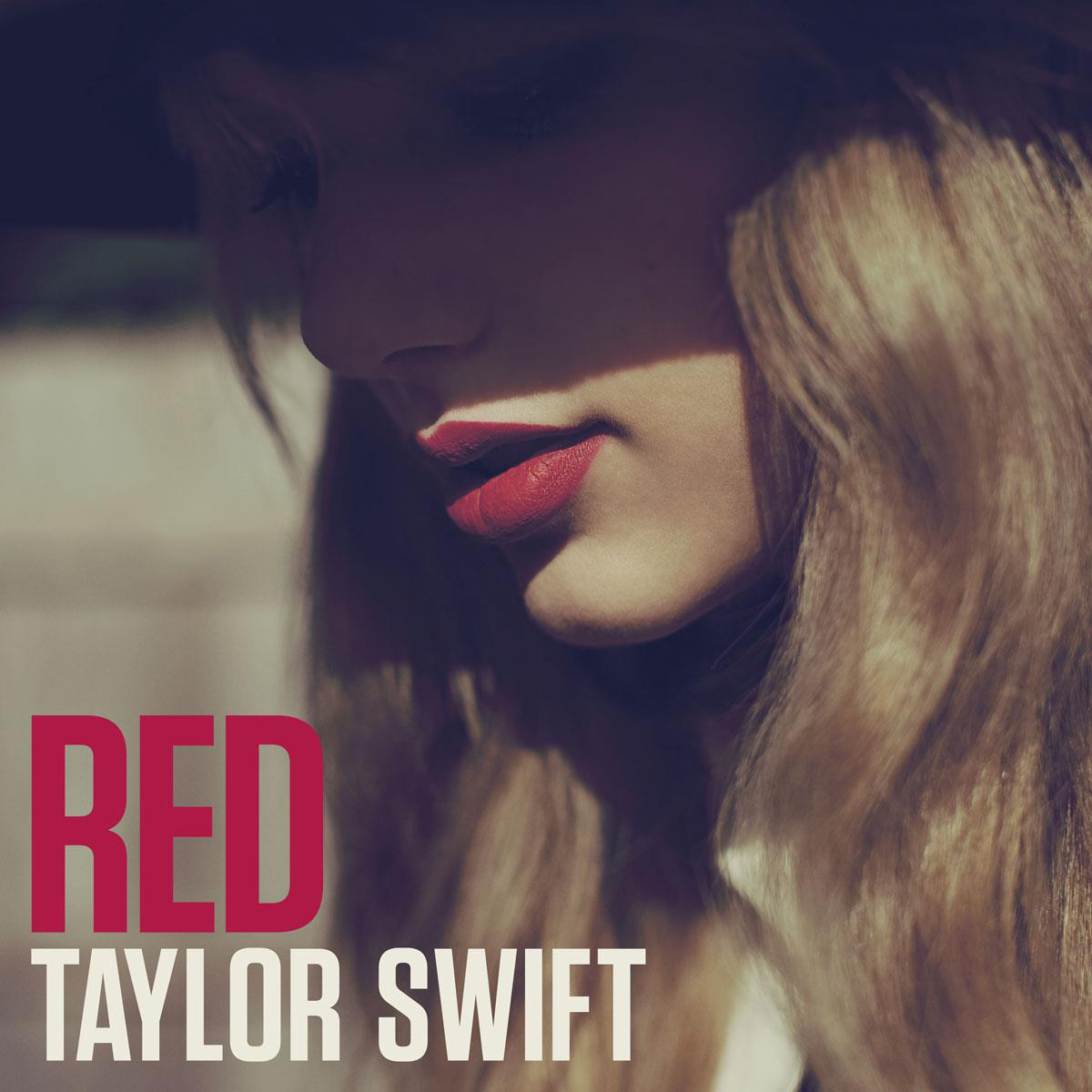Cover art for Taylor Swift's 2012 record  Red.