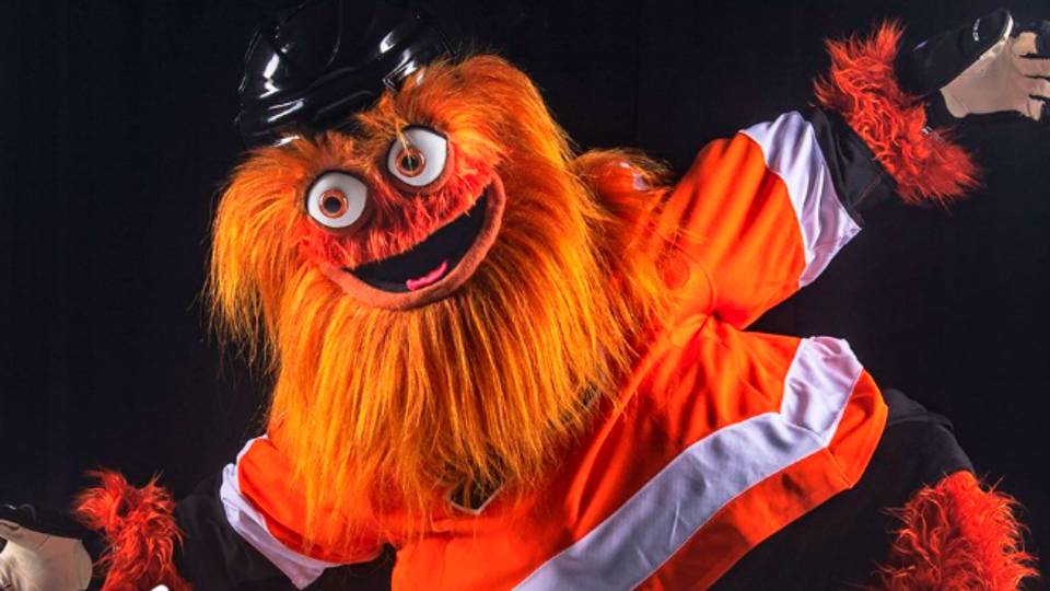 New Philadelphia Flyers mascot 'Gritty', Philadelphia famously  pelted  snowballs at a Santa Claus during an Eagles game in 1967