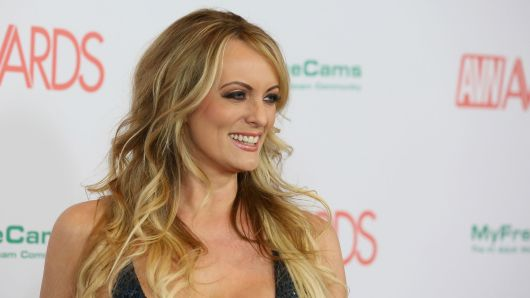 Stormy Daniels alleged an extramarital affair with President Trump that took place in 2006