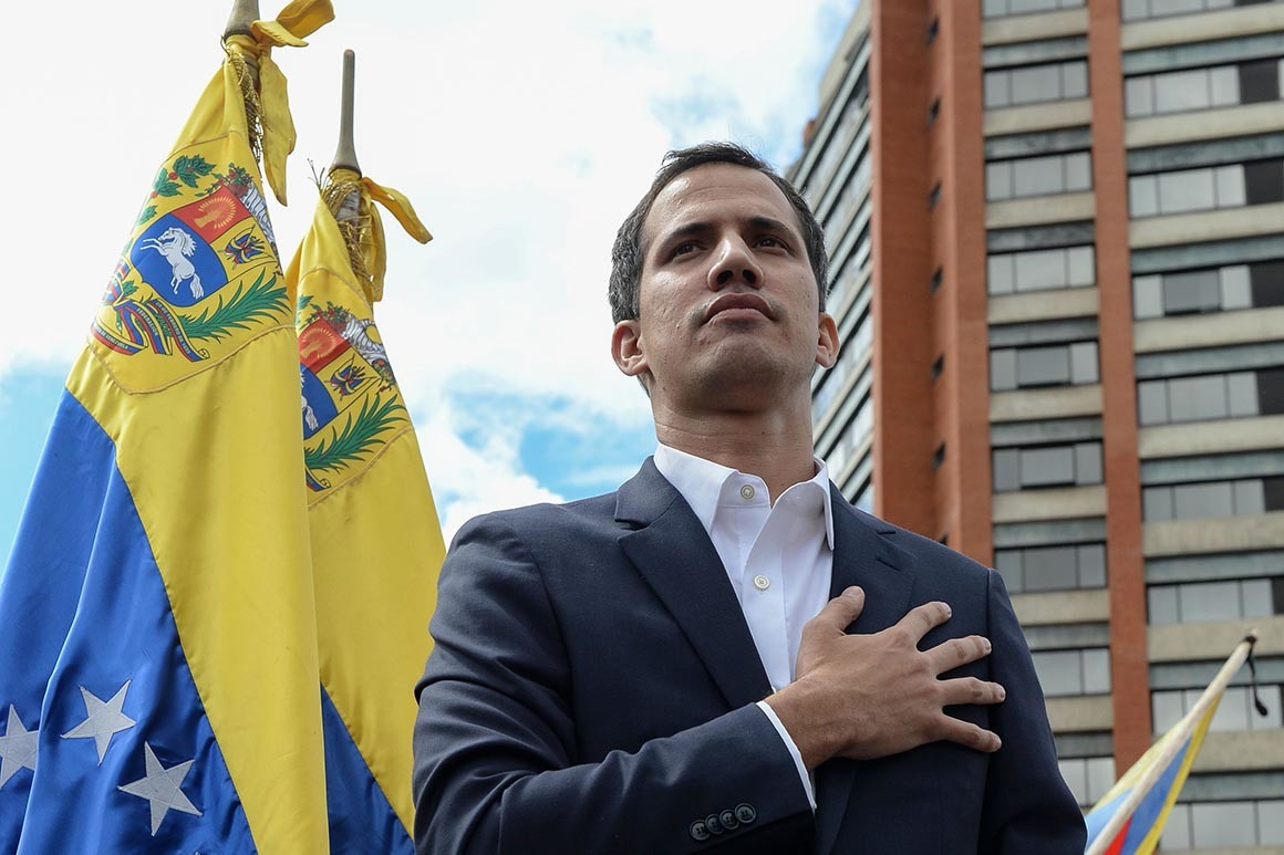 Venezuelan National Assembly president Juan Guaido of the Popular Will Party took office on January 5th, 2019. Today, he declared himself interim president of the country and called for new elections following the controversial outcome of the last Venezuelan election which resulted in current Venezuelan president Nicolas Maduro's being elected to a second 6-year term
