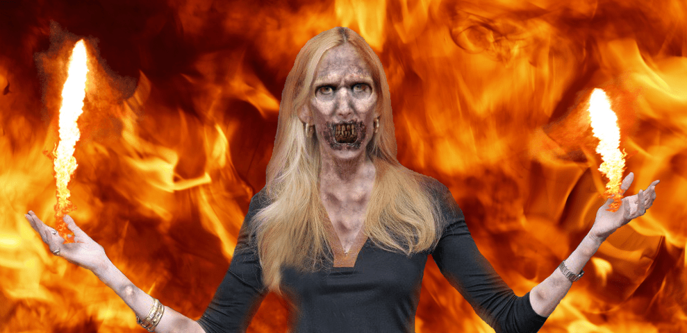 Conservative commentator Ann Coulter prepares for the battle of her life