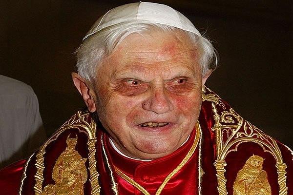 Francis' predecessor, Pope Benedict XVI