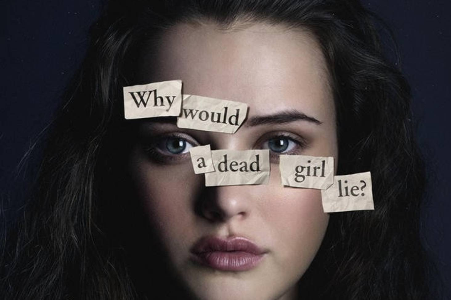 Katherine Langford as Hannah Baker in Netflix's 13 Reasons Why (quote may be an example of Camus' paradox) (the show's marketing campaign certainly did it no favors (see, also: next image, below))