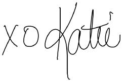 xo Katie