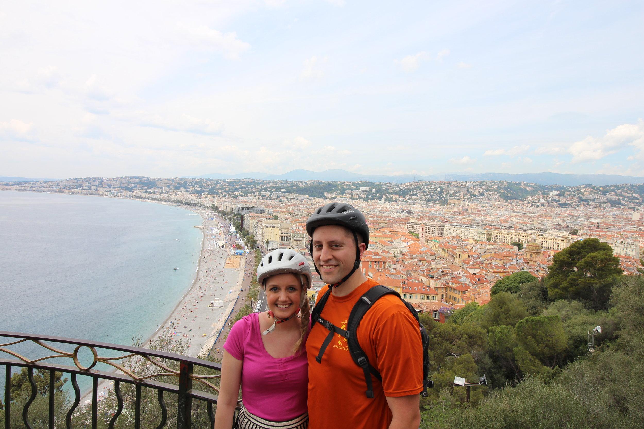 Bike Tour of Nice, France