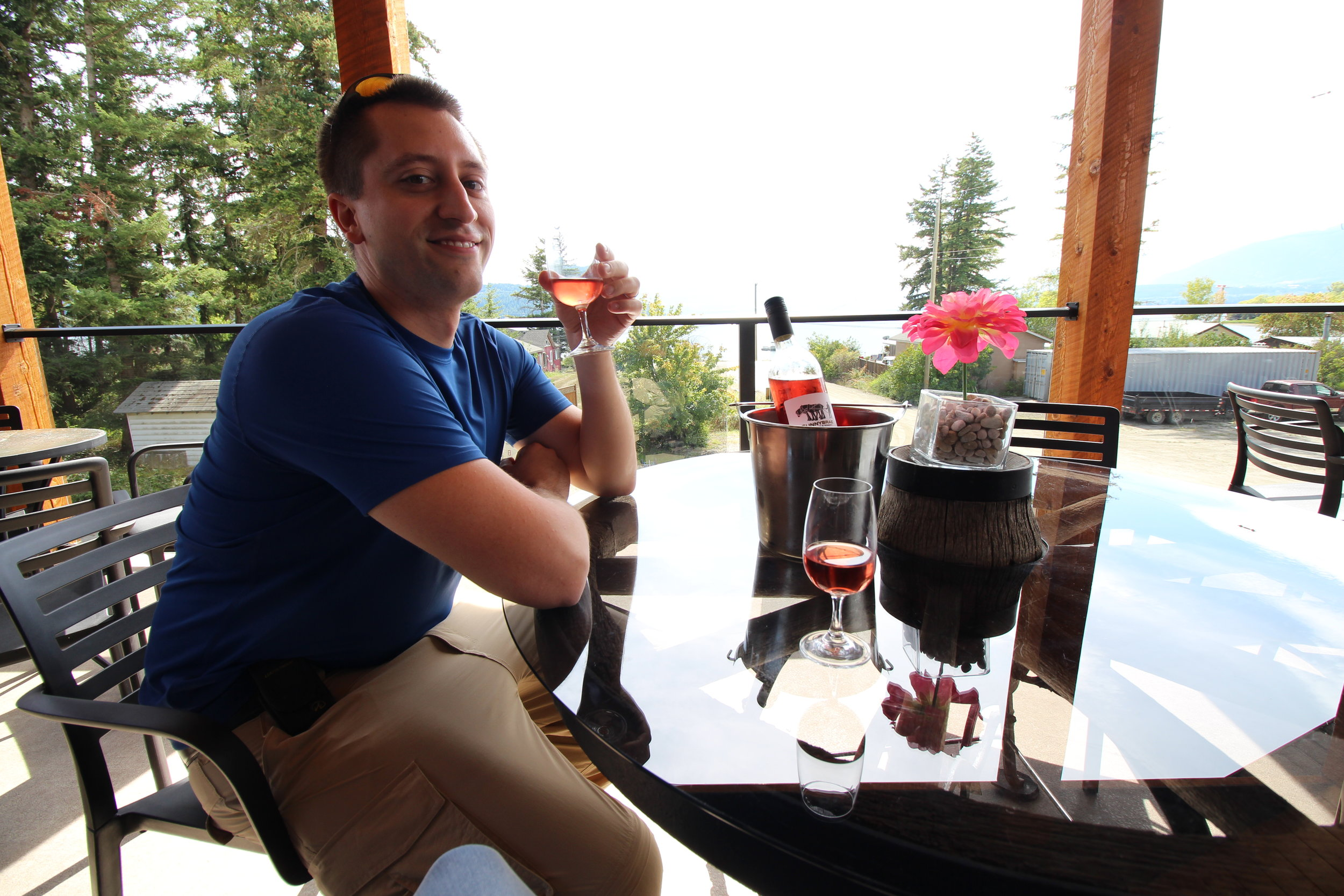 Sunnybrae Vineyards & Winery, Tappen, BC Canada
