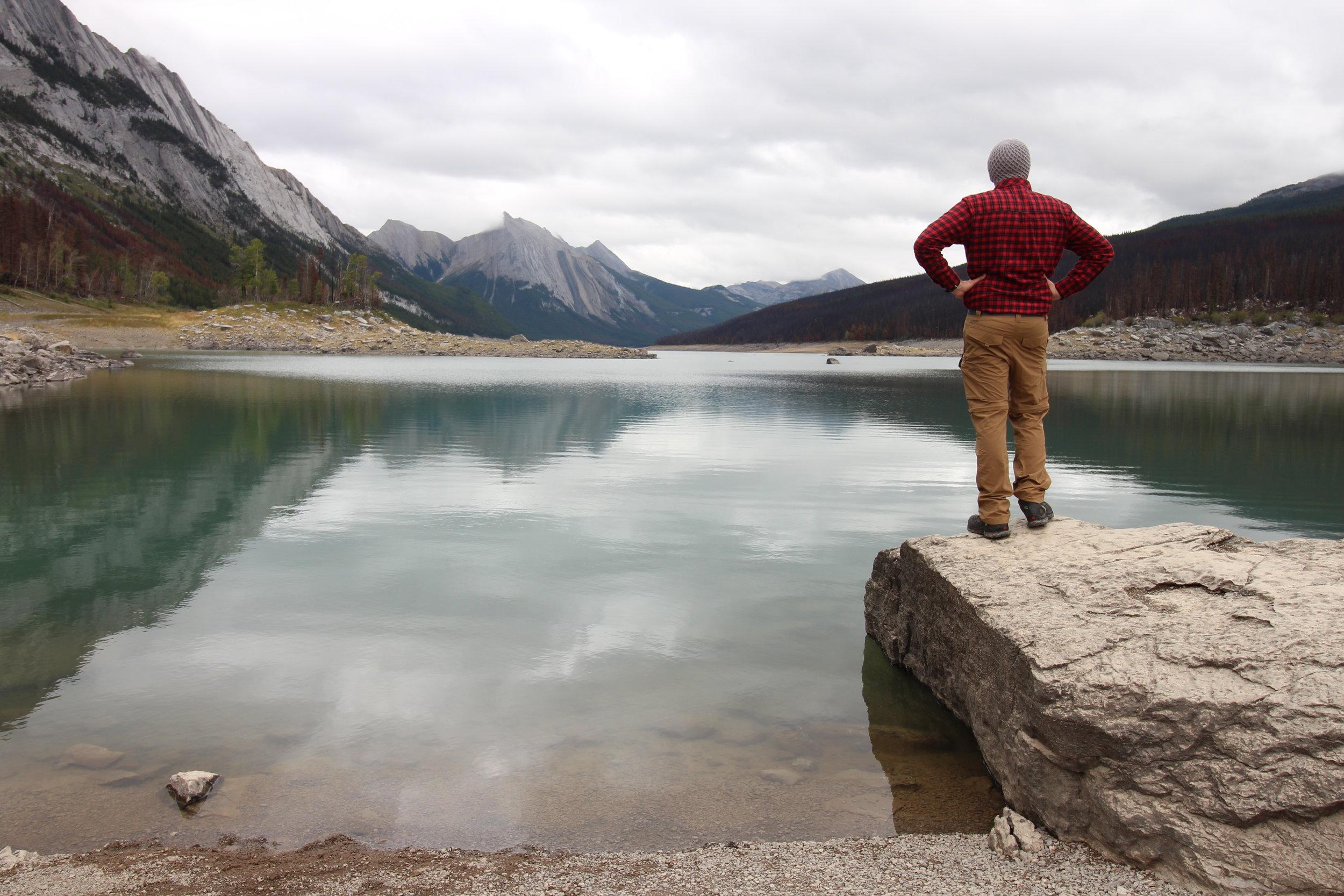 Medicine Lake, Jasper National Park, AB Canada