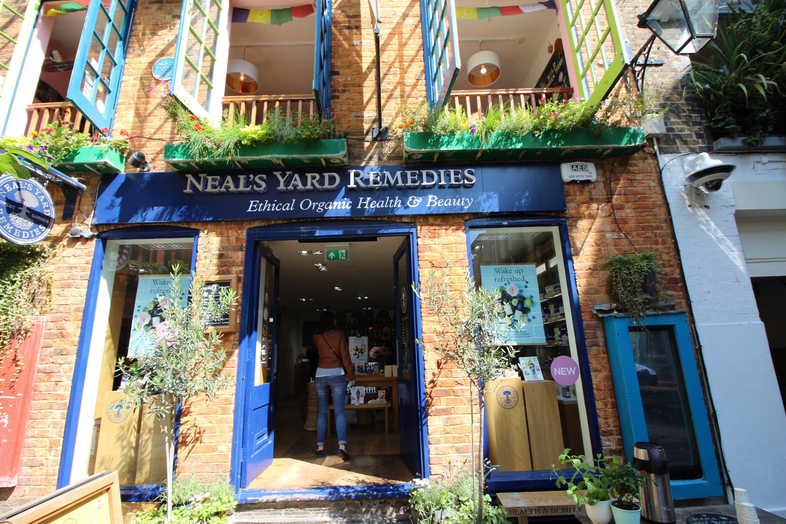 Neal's Yard, London, UK