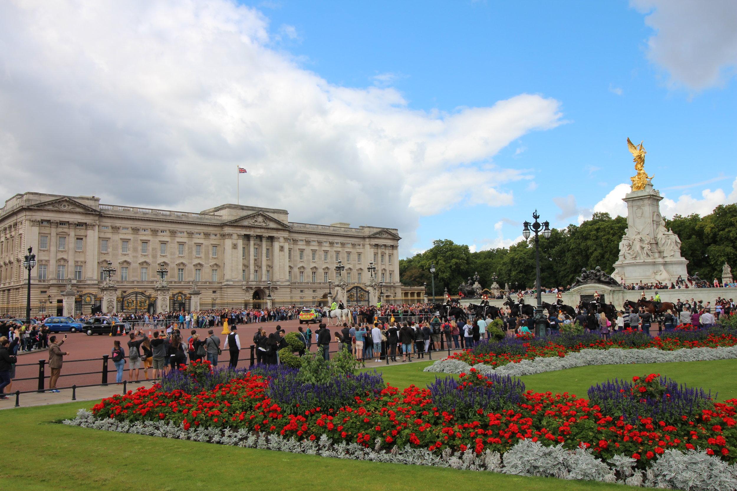 Buckingham Palace, London, UK