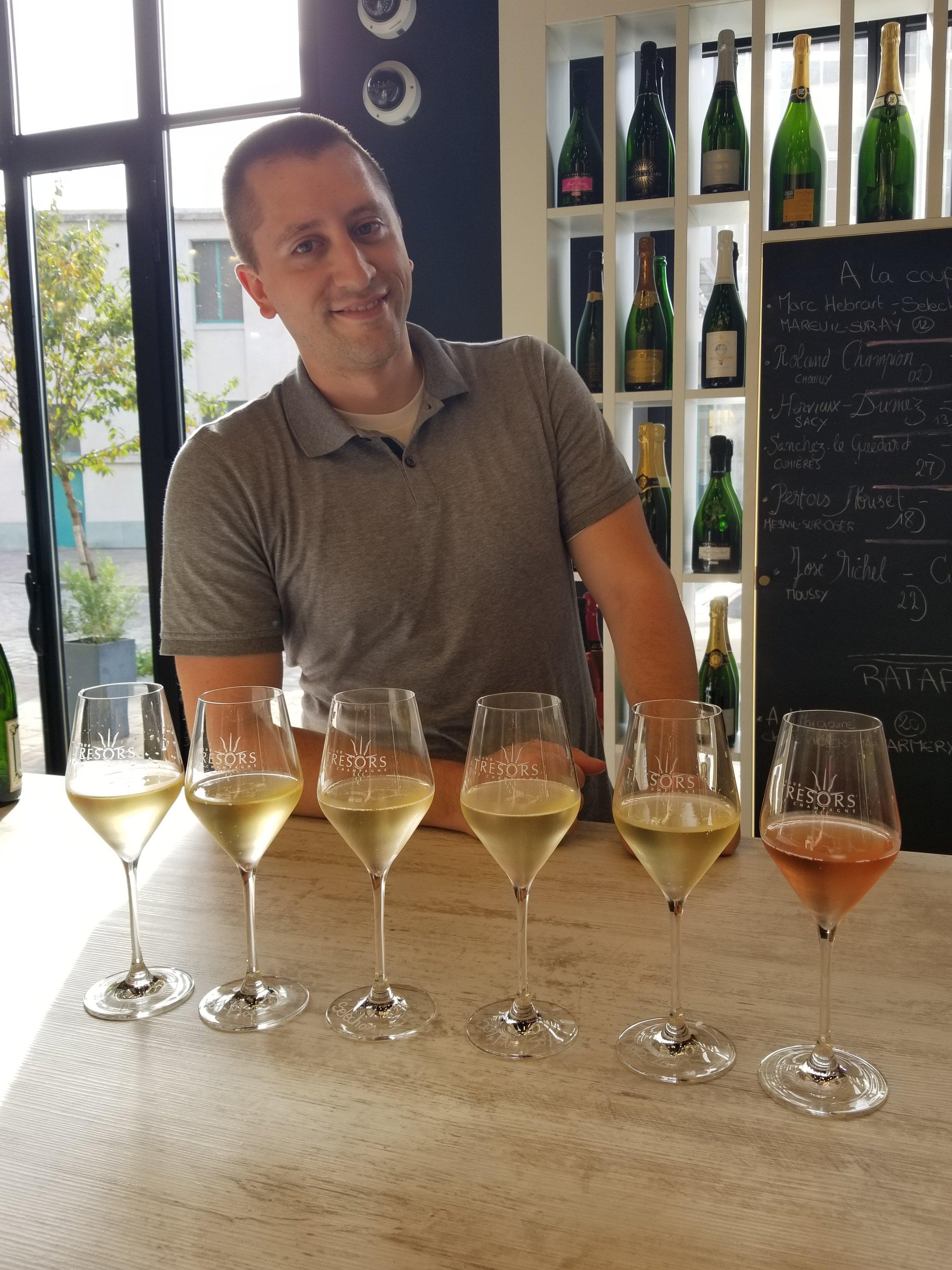 Trésors de Champagne : la Boutique, Champagne, France