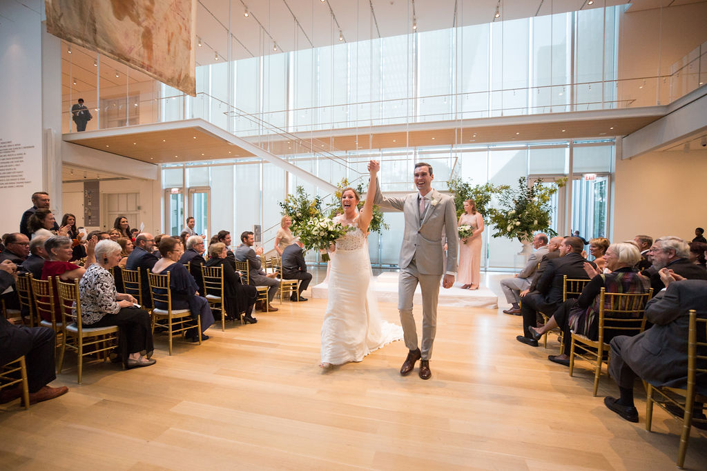Modern Wing Wedding