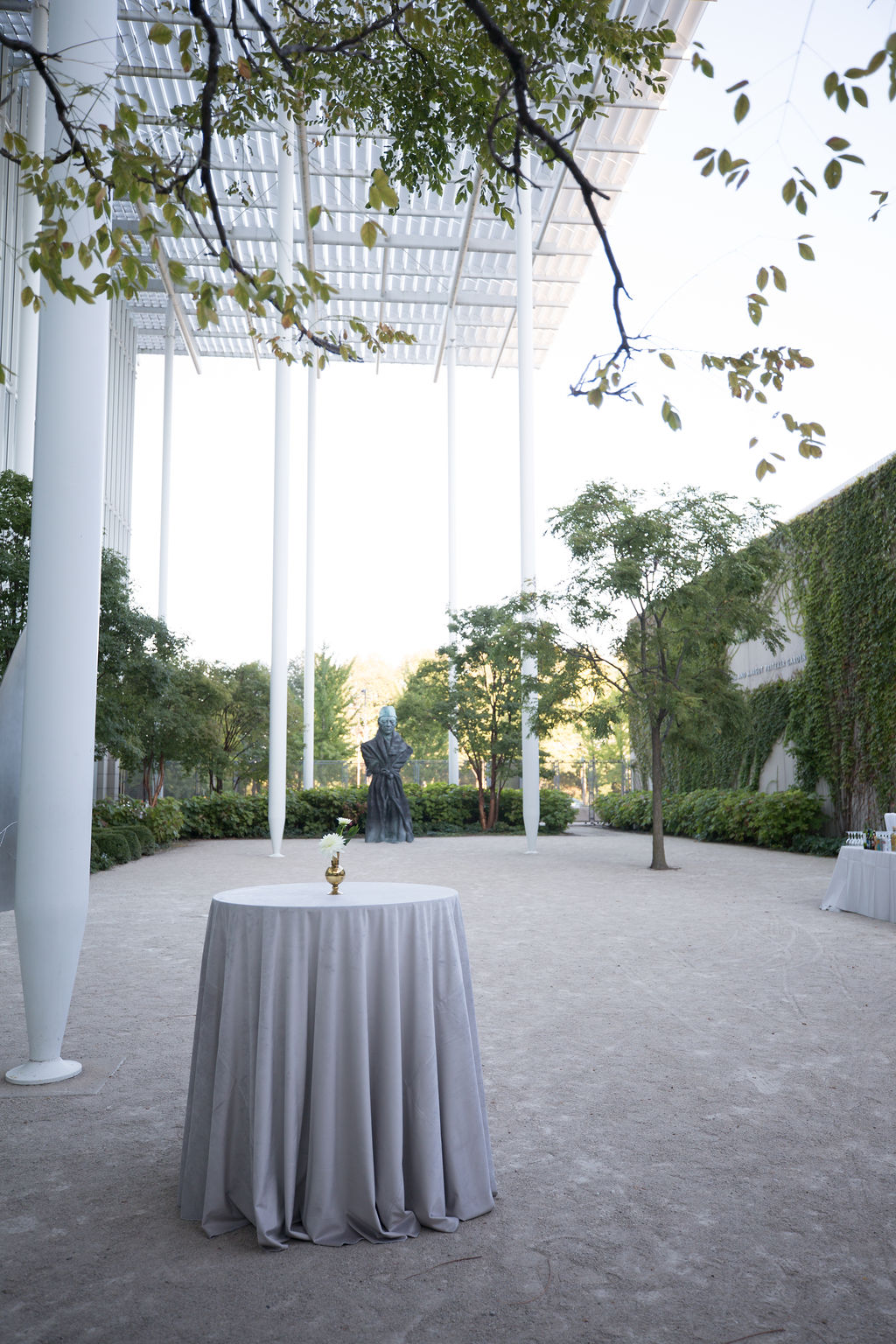 Modern Wing Wedding