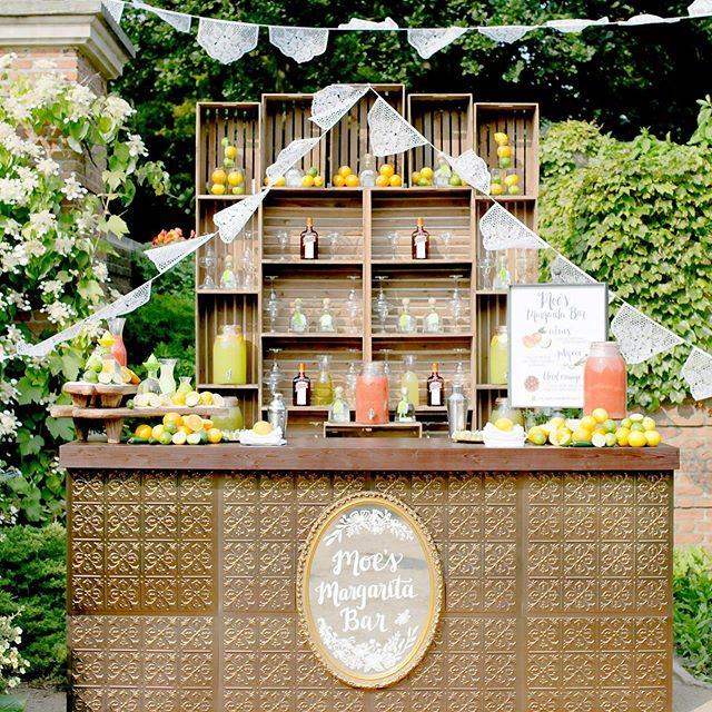 Summer deserves the perfect Margarita Bar 💃 Design and Planning @blisschicago  #blissweddingsandevents #margaritaville #margaritabar