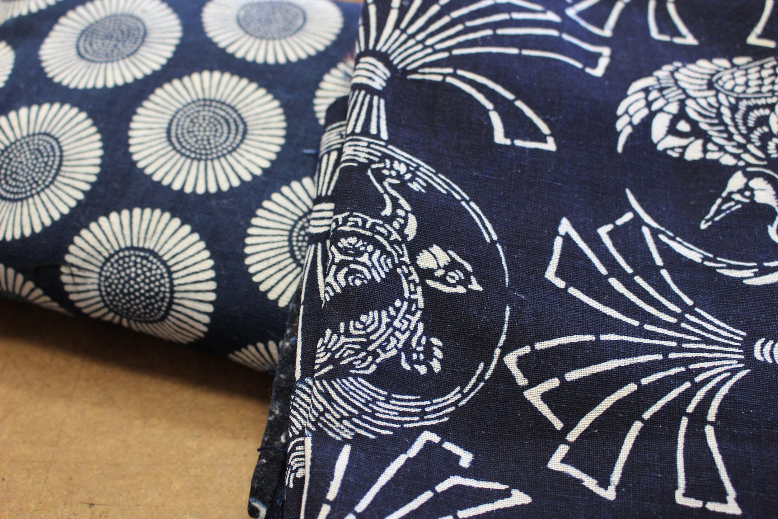 Katazome - Vintage Aizome Textiles