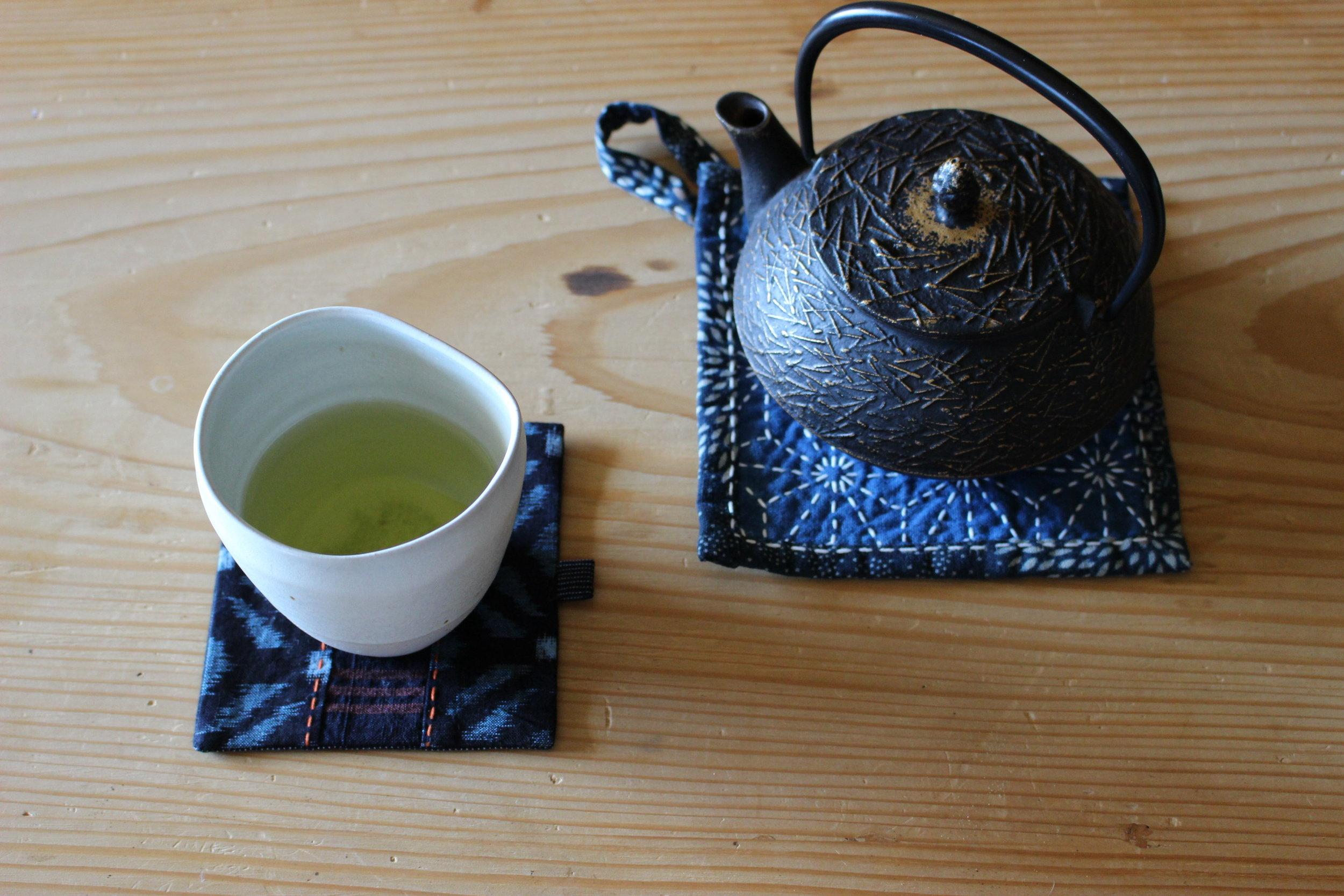 Tea Pot Mat -