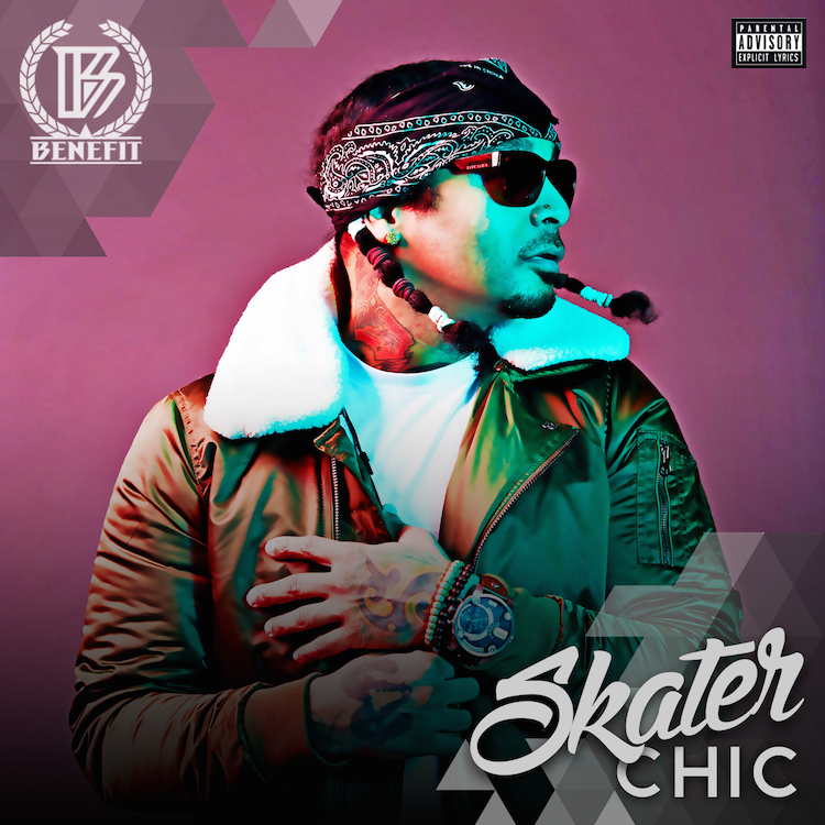 "MMMGT artist Benefit's debut EP  ""Skater Chic"" - Featuring production by Zaytoven & Rhythm D"