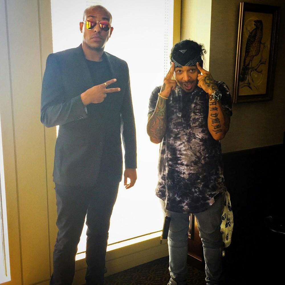 """Magic Music Management CEO- Paul Lewis w/ ET of Hot 107.9 FM's  """"Durtty Boyz"""""""