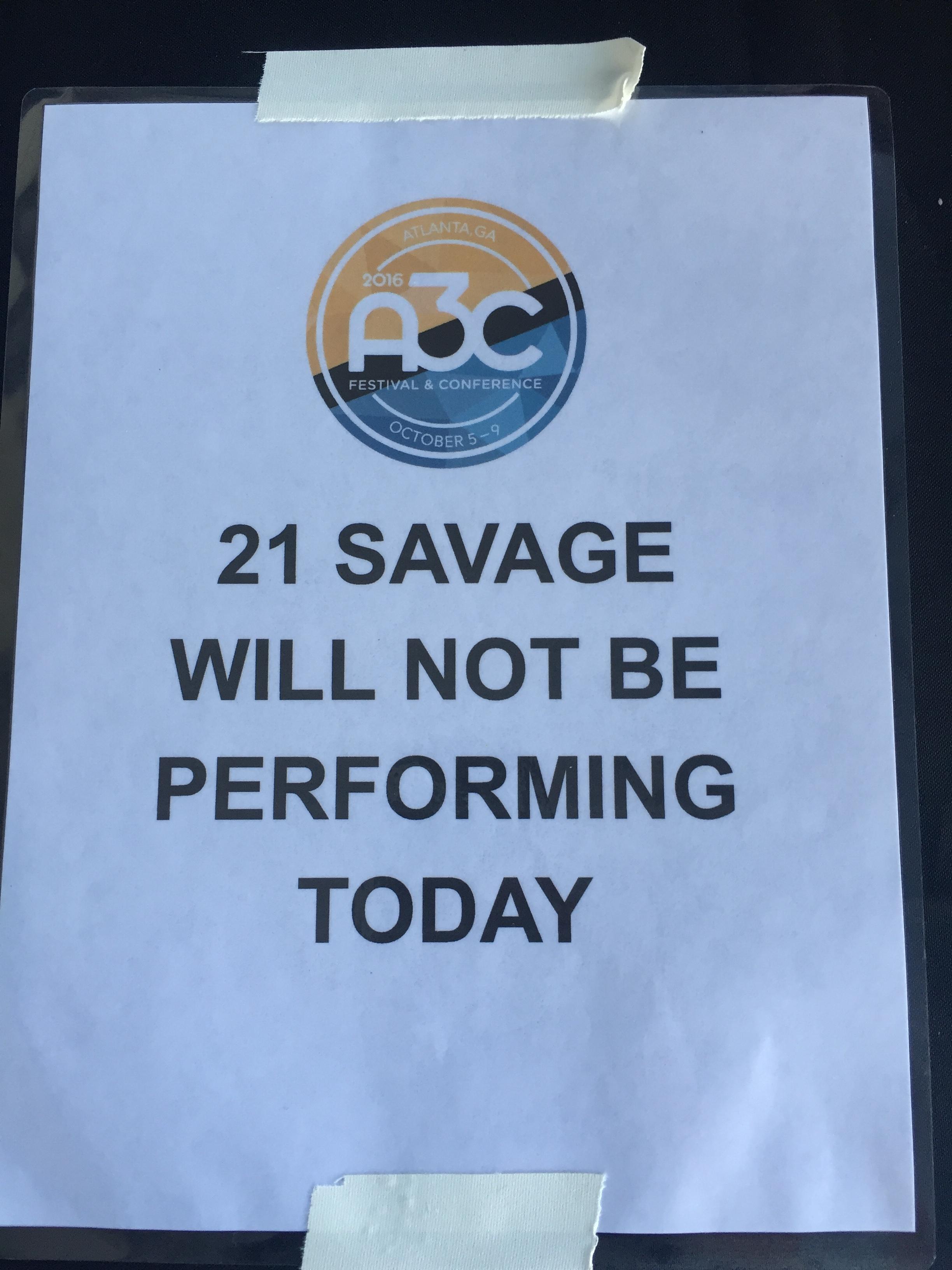 MAGIC MUSIC MANAGEMENT A3C 21 Savage