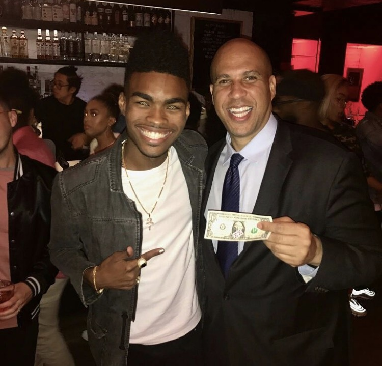 Jibrizy Hip Hop Illusionist Magic Music Management Senator Cory Anthony Booker  .jpg