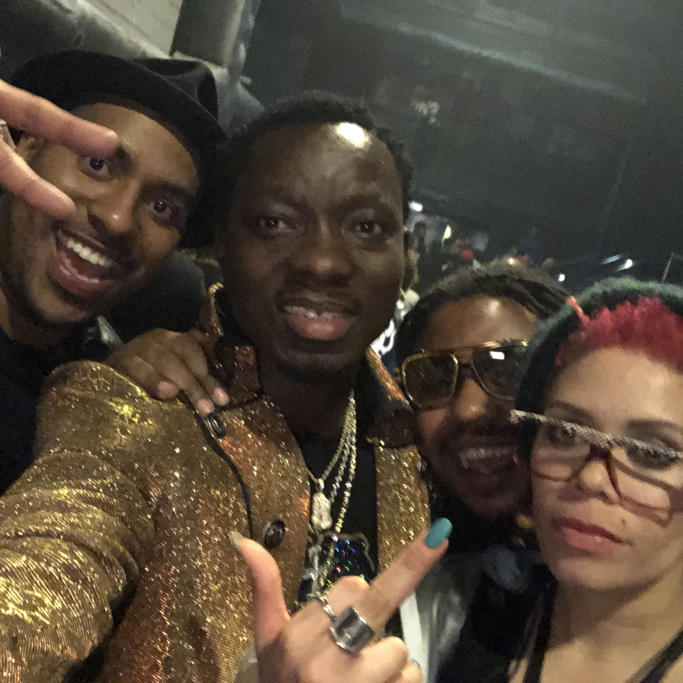 Magic Music Management Paul Lewis Michael Blackson Erkyah Badu Birthday Party.JPG