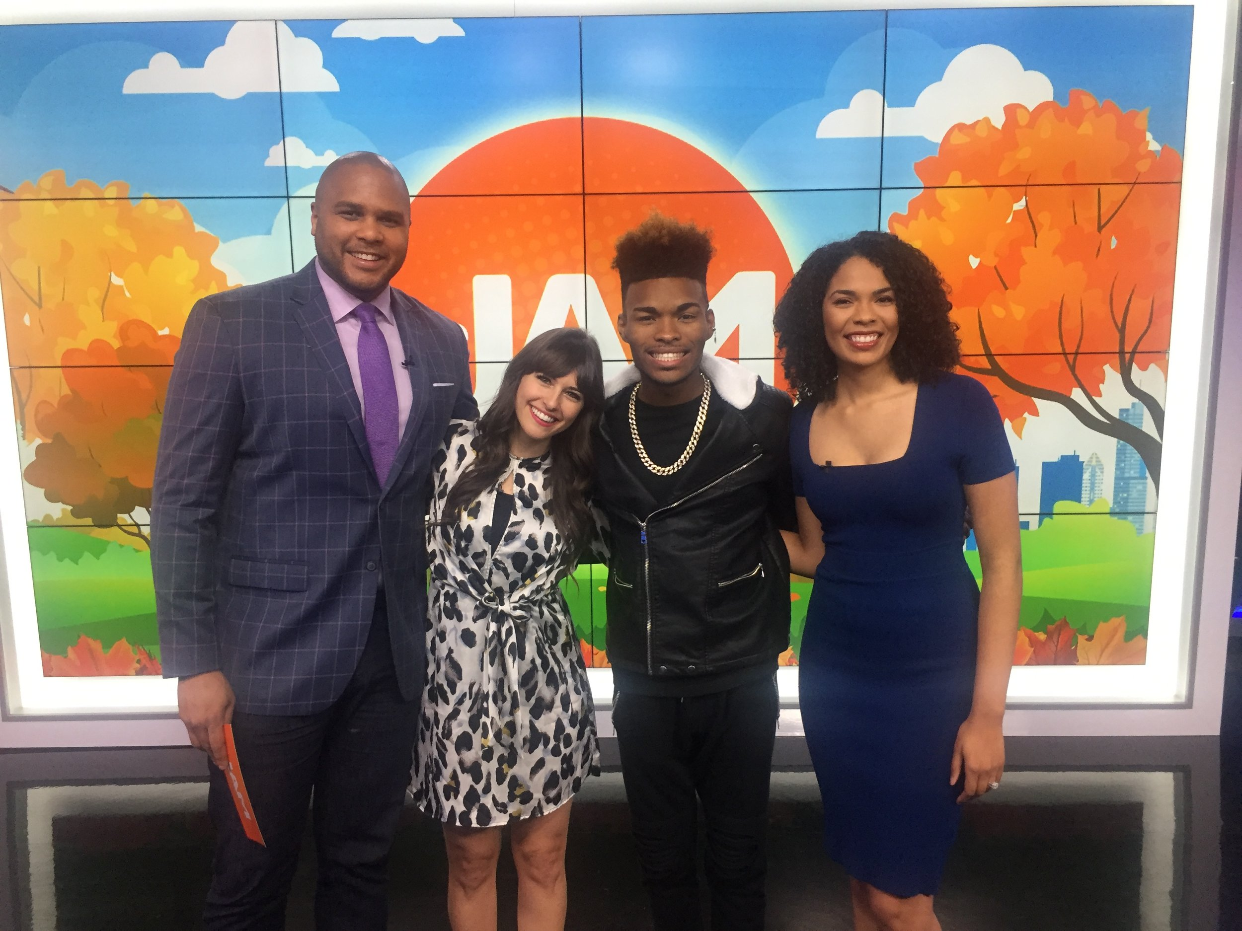 Magic Music Management Atlanta Jibrizy The Jam Tv Show.JPG