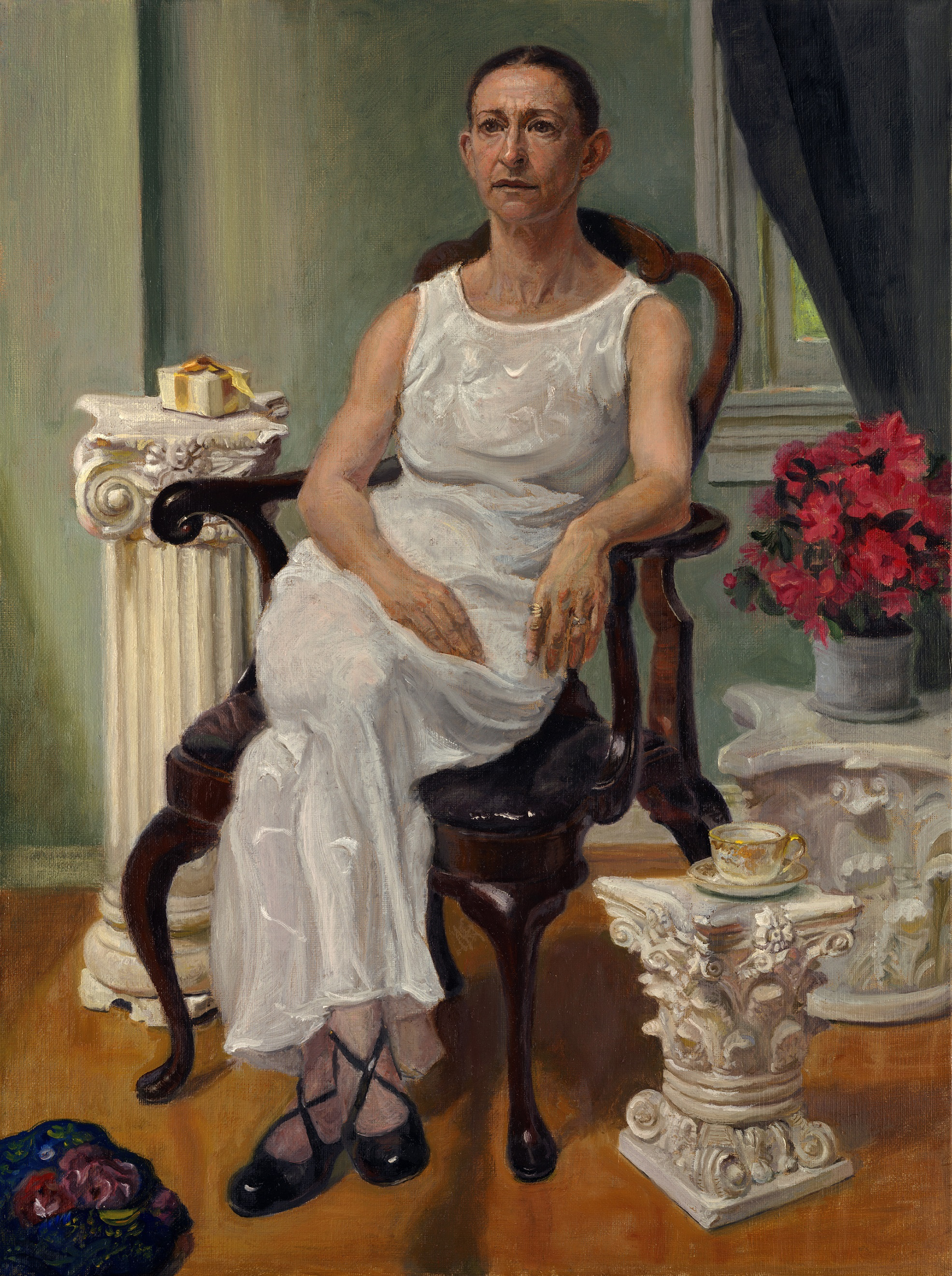 Luz in a White Dress