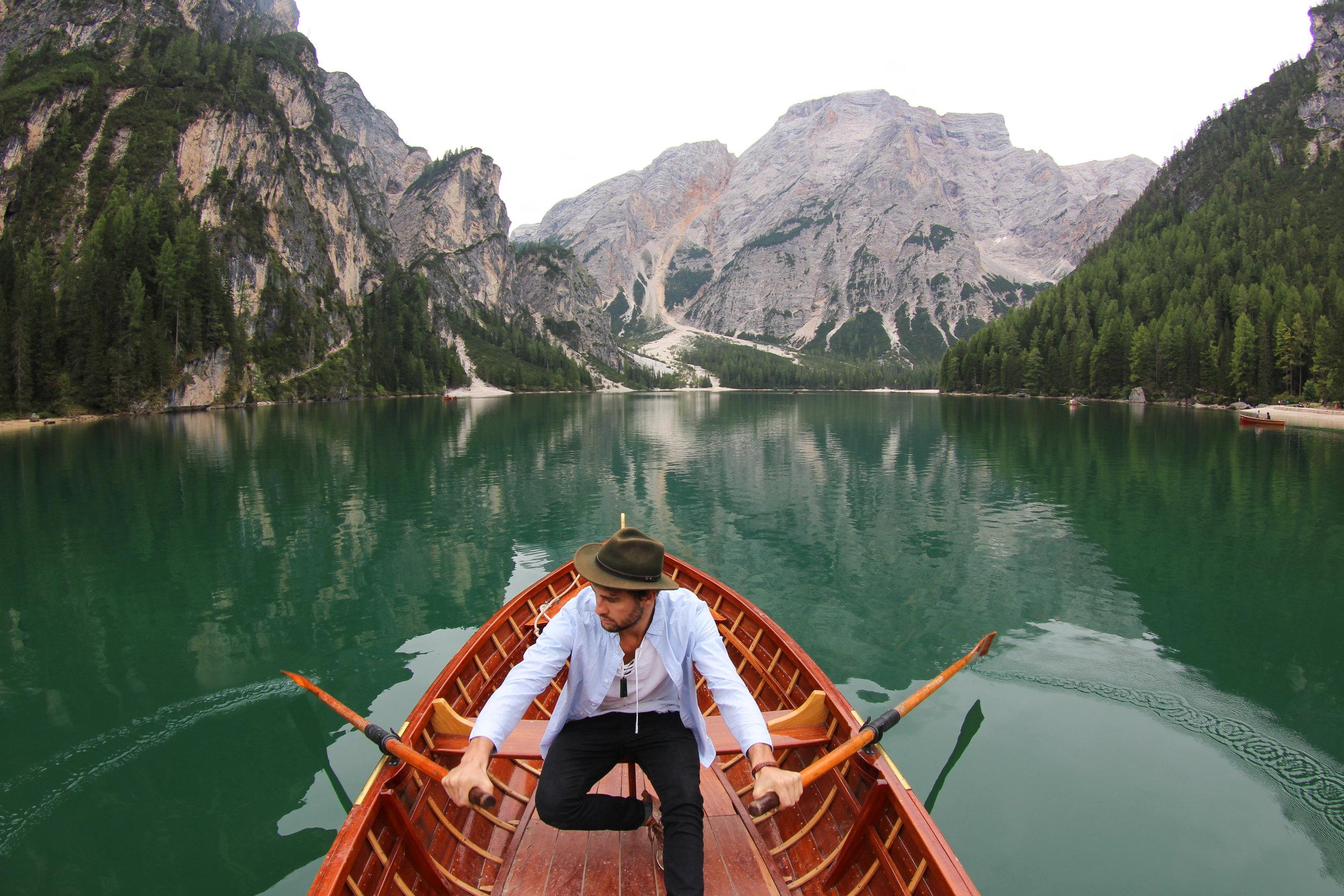 nick rowing