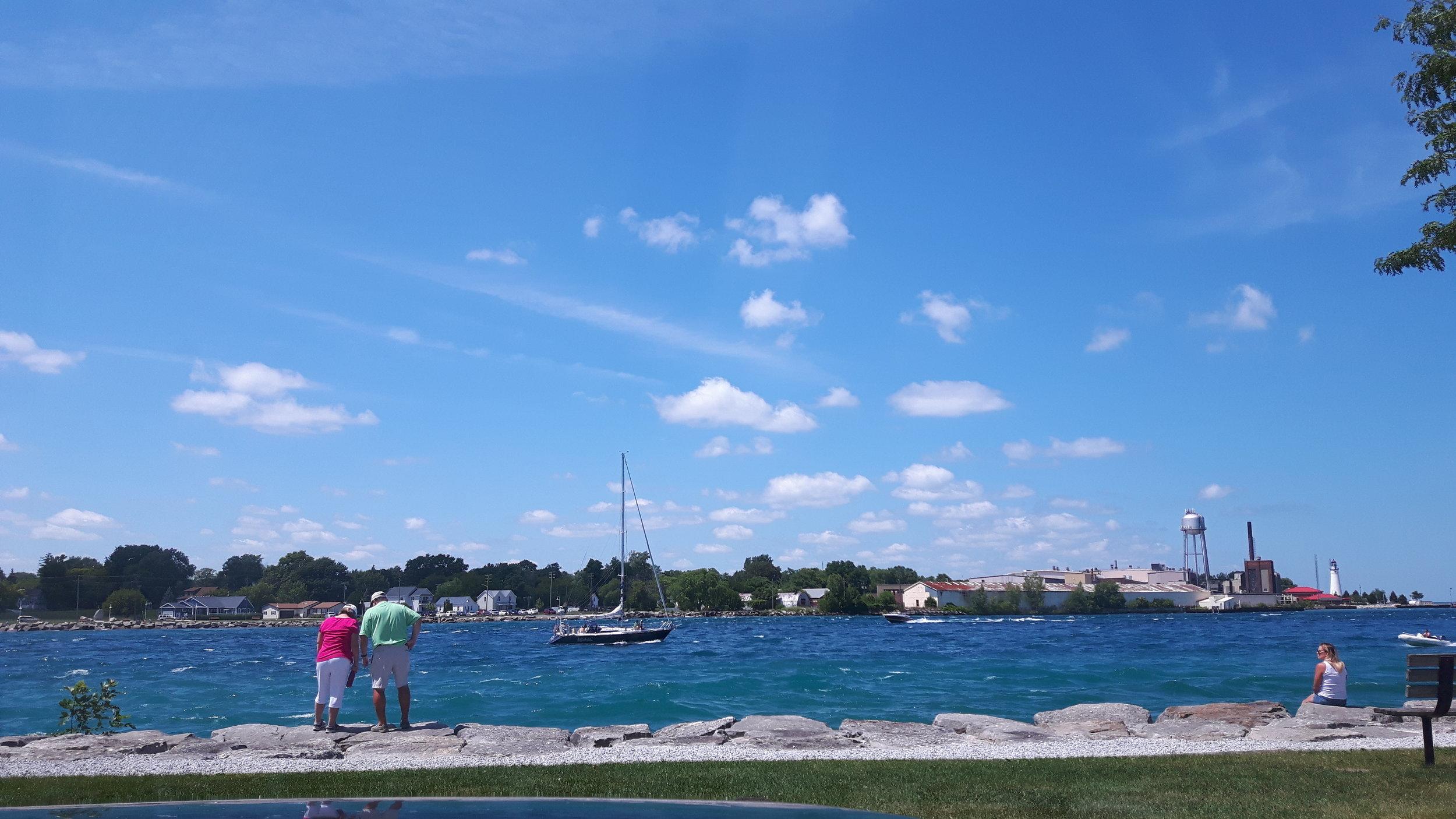 Sarnia's Beautiful Coast.